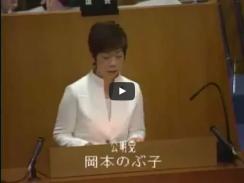 平成25年第1回定例会2月21日 本会議 一般質問
