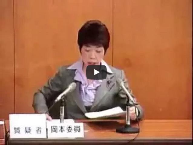平成25年3月12日予算特別委員会