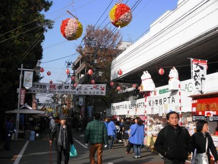 世田谷ボロ市に行ってきました。