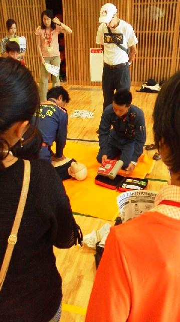 京西小学校の避難所運営訓練に行って来ました!